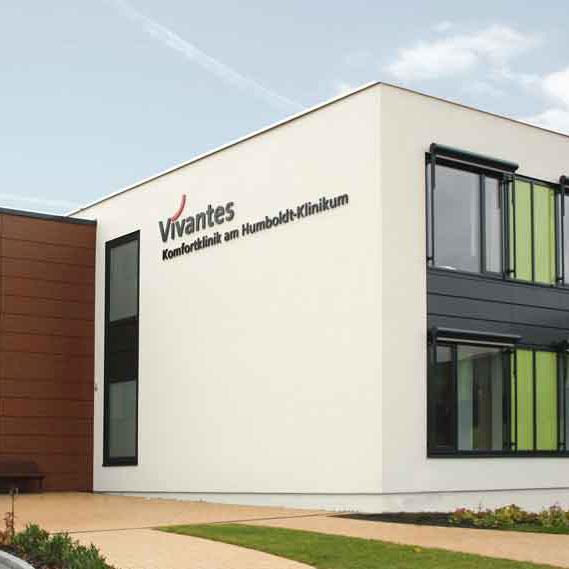 Brandschutzkonzept Vivantes Humboldt-Klinikum, Neubau Komfortklinik